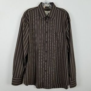 Pronto Uomo long sleeved mens shirt size L